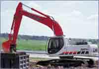 Link-Belt's LX excavators