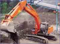 Hitachi Zaxis excavator