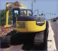 Komatsu Dash-7 Series excavators