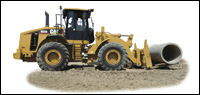 Caterpillar H Series wheel loader