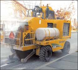 Vermeer CC155 Concrete Cutter