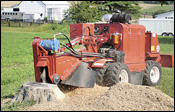 Morbark D 76 SP stump grinder