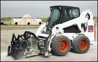 Bobcat skid-steer loader with speed management