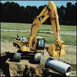 Caterpillar D-Series excavator