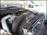 Ford F-350's PowerStroke V-8 engine
