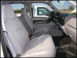 Ford F-350 truck's interior