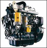 JCB's Model 444 diesel engine