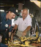 Dale Warner, CEM (right)