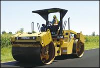 Caterpillar CB-564D compactor