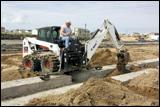 Bobcat skid-steer loader