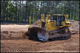 Caterpillar dozer with electronic controls