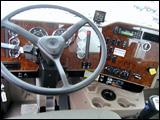 Dashboard of the 5600i truck