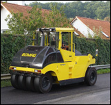 Bomag BW24RH and BW27RH pneumatic roller