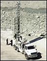 Sandvik Driltech T1000 blasthole drill