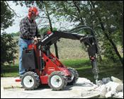 Toro Dingo 220 mini-skid-steer loader