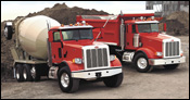 Peterbilt 365 and 367 heavy-duty trucks
