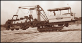 HU Dredger trench-digging machine