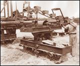 Ruth Dredger trench machine