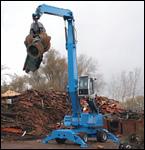 Terex/Fuchs 350 MHL material handler