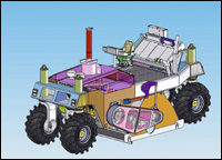 Roadtec soil stabilizer