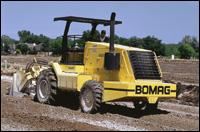 Bomag asphalt recycler/soil stabilizer