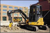 John Deere 27D hydraulic excavator