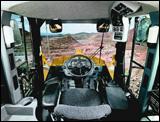 Wheel loader operator cab