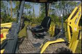 Yanmar CBL40 backhoe loader cab