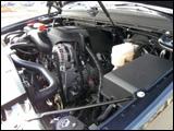 FlexFuel V-8 engine