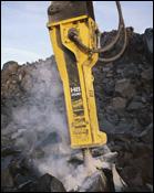 Atlas Copco HB 2500 hydraulic breaker attachment