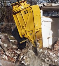 Atlas Copco DP 2800 hydraulic demolition pulverizer attachment