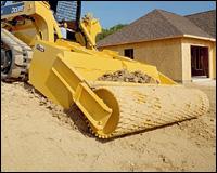 John Deere Worksite Pro Roller Level attachment