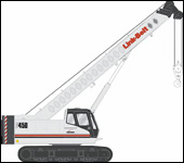 Link-Belt TCC-450 telescopic crawler crane