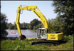 New Holland E215-ME Multi-Function excavator