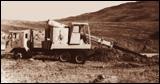 Gradall Grademaster excavator