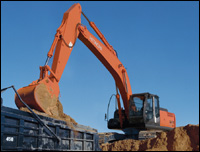 Hitachi Zaxis Dash Three crawler excavator