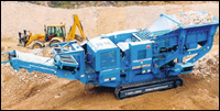 "Terex Pegson 1165 HR ""M"" jaw crusher"