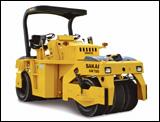 Sakai GW750 pneumatic roller