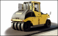 Bomag pneumatic tire roller