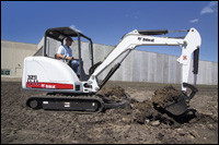 Bobcat 329 compact excavator