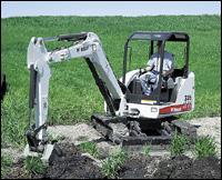 Bobcat 335 mini excavator