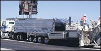 Travis Mule asphalt trailer