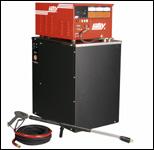 Hotsy HWE series hot-water pressure washer