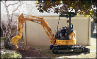Case CX-Series compact excavator