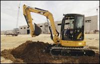 Caterpillar 304C CR compact excavator
