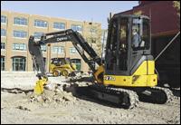 John Deere 27D compact excavator