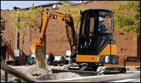 Hitachi ZX75US compact excavator