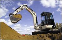 Ingersoll Rand ZX-75 compact excavator