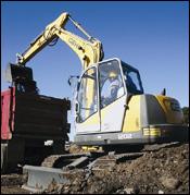 Gehl 1202 compact excavator