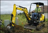 Vermeer compact excavator